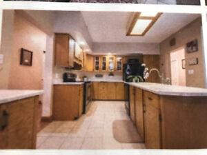 Oak Kitchen Cabinets for sale $2,000