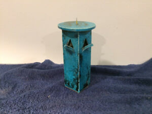 Lovely pottery candle holder