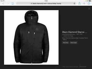 Black diamond Mens stance belay hoody size XL (NEW)