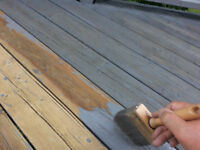 A PRESERVED DECK WILL SAVE YOU  MONEY    519-496-2805