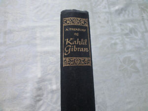 A Treasury of Kahil Gibran Asking $10.00