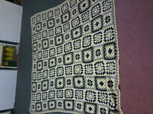 Home made crochet blanket
