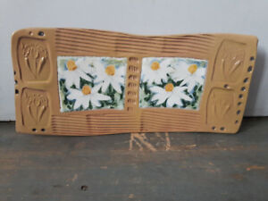 Handpainted pottery for hanging