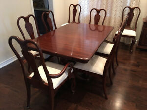 Exceptional GIBBARD Solid Cherry Wood Dining Room Set & more!