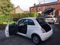 Fiat 500, 1.2, 2010, 52,000 miles