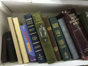 Bibles - Lots in Stock - Starting at only $1!