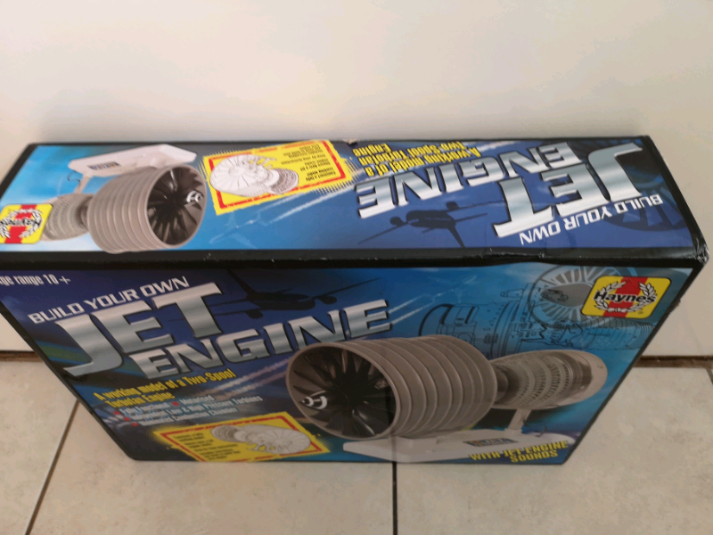 Build your own Jet Engine working model!!!Can deliver or post! | in  Mapperley, Nottinghamshire | Gumtree