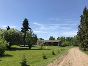 Reduced Acreage Nipawin 5 acre property, Has Natural Gas