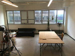 Atelier à partager Mile-End / Studio To Share