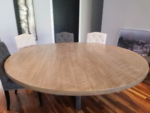 Custom Made All-Canadian Pinewood Round table