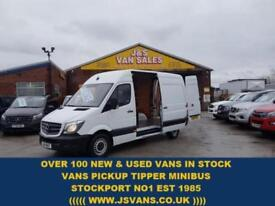 2014 14 MERCEDES-BENZ SPRINTER 313 CDI MED WHEEL BASE 1 LEASE OWNER ONLY 54000 M