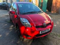 Toyota Yaris 1.33 VVT-i 2009MY TR 1 PREVIOUS OWNER,APRIL 2019 MOT