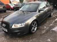 2008 58 AUDI A6 S- LINE 2.7 LE MANS MULTITRONIC SAT NAV IMMACULATE CAR FOR YEAR