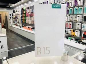 Brand New Oppo R15 frost white 64gb warranty tax invoice unlocked