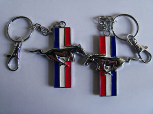 Metal Mustang Horse Key Chain Fob Ring Keychain London Ontario image 2