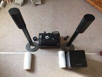 Harman Kardon and Sony surround sound speaker system