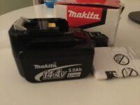 Makita bl1430 li-on battery (new)