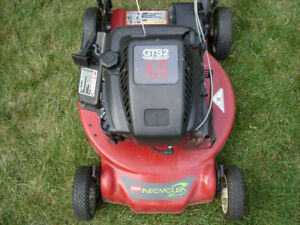 Toro Self-Propelled Mulching Mower with Bag