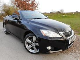 2011 Lexus IS 250C SE L 2dr Auto DAB! Full Lexus SH! Sat Nav! 2 door Convert...