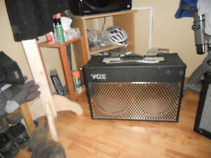 ampli vox et guitare  washburn limited