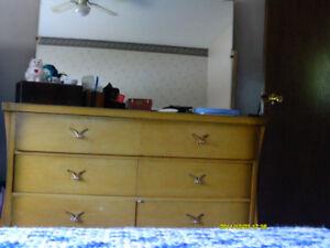 4 piece antique bedroom set