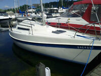 Tanzer 7.5 with fully serviced Yamaha 9.9