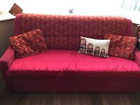 King size sofabed reduced price.