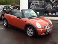 2005 MINI 1.6 One Convertible 2dr Petrol Manual (168 g/km, 90 bhp)