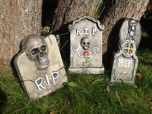 Stained concrete Head Stones Pick one of 3 styles