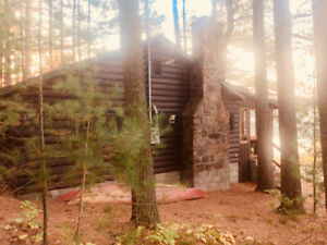 Waterfront- peaceful and private cabin rental. Weekly from: