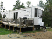2012 Keystone 40' Residence Park Model R.V. with two slide outs