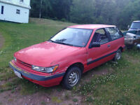 1992 Dodge Colt Coupe 200 E (2 door)