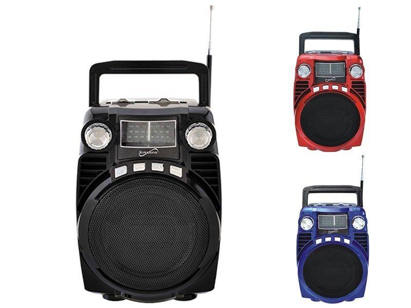 Supersonic Bluetooth Portable 4 Band Radio