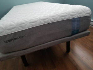 Like New Xtra-Long Temper-Pedic Adjustable Bed