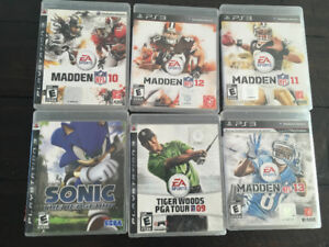 PS3 PlayStation 3 games $5 each