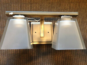 Brand new chrome Hinkley light fixture