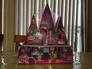 My Little PONY Canterlot Castle Series Twilight Sparkle NEW SET