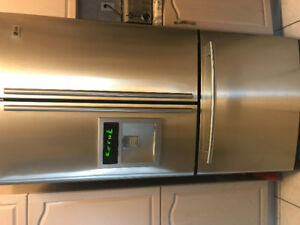 LG Refrigerator, French door and LG Stove, Convection self-clean