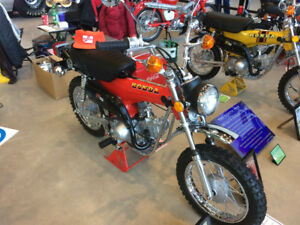 1973 HONDA ST90 MINT SHOWROOM RESTORED 191 ORIG. MILES