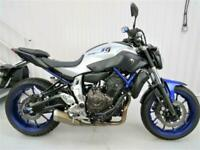 Yamaha MT07 abs 2016 reg bike 871 miles only from new