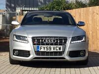 Audi A5 S5 Convertible S Tronic 2009 S line not s3 s4 rs4 gti dsg gtd