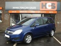 Vauxhal Zafira 1.6i 16v Exclusiv 1 Year MOT, Warranty & AA Cover included