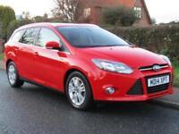 2014 Ford Focus 1.6 TDCi 115 TITANIUM NAVIGATOR 5DR TURBO DIESEL ESTATE * 24,...