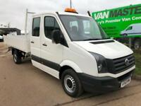 249937e9d28625 Volkswagen Crafter 2.0 TDI CR35 LWB Double Cab Tipper 4dr (LWB) DIESEL 2013