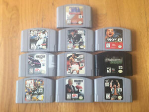 10 Nintendo 64 Games (Only $40)