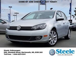 2013 VOLKSWAGEN GOLF Highline - Low Mileage, VW Certified