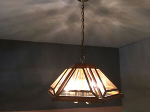 Rustic Chandelier Light