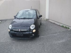 2013 FIAT 500,BLACK ,AUTOMATIC,MINT CONDITION $5999+TAX