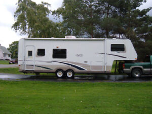 Fifth wheel for rent