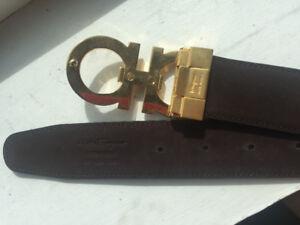 New leather Salvatore Ferragamo man belt